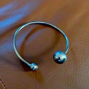 Silpada sterling silver Have a Ball bracelet B2895